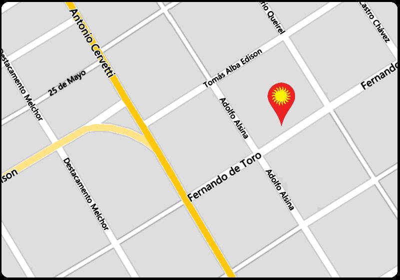ubicación geográfica en Monte Grande, Buenos Aires